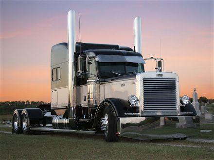 peterbilt show truck