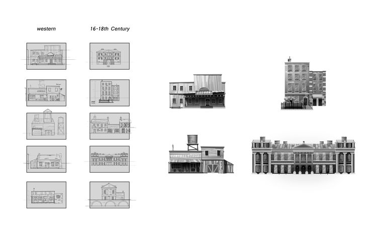 10 thumbnails with 4 chosen ones refined, BEAUTIFULLY I might add. Only 2 will move on to the end.