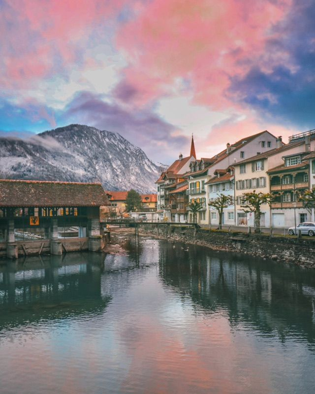 Our first trip of the year took all the way to lakes and snowy Alps of Switzerland – more specifically to Interlaken before heading over to quite a few amazing places in Valais (more on