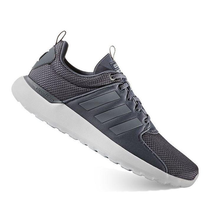 Adidas NEO Cloudfoam Lite Racer Men\u0027s Shoes, Size: 11.5, Black