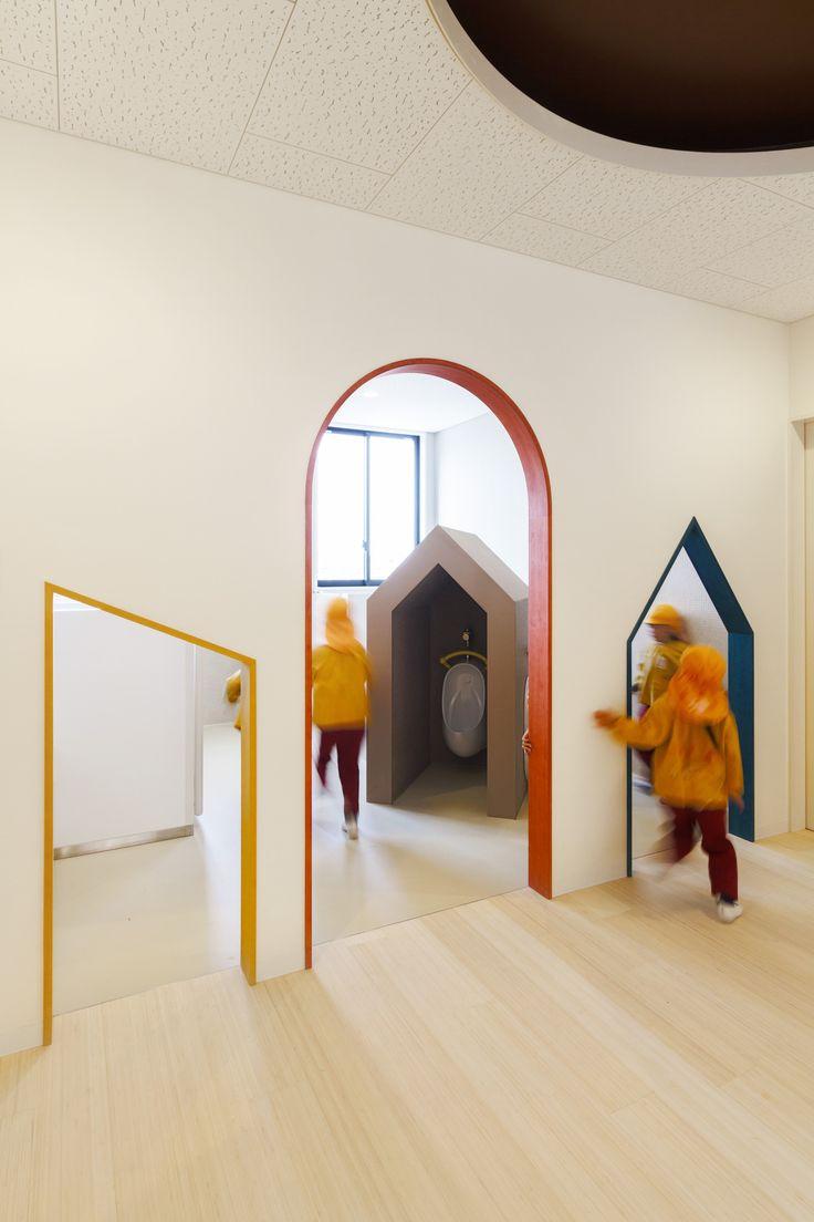 Gallery of C.O Kindergarten and Nursery / HIBINOSEKKEI + Youji no Shiro - 7