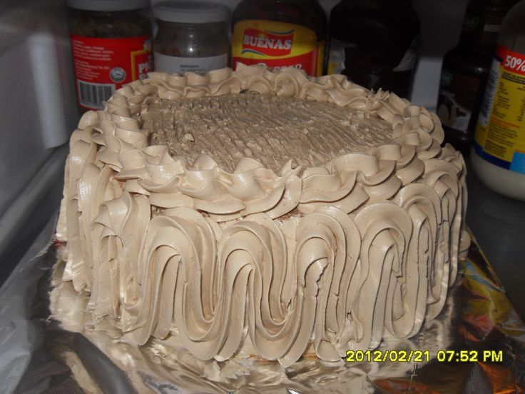 Mocha Cake Just Like Goldilocks