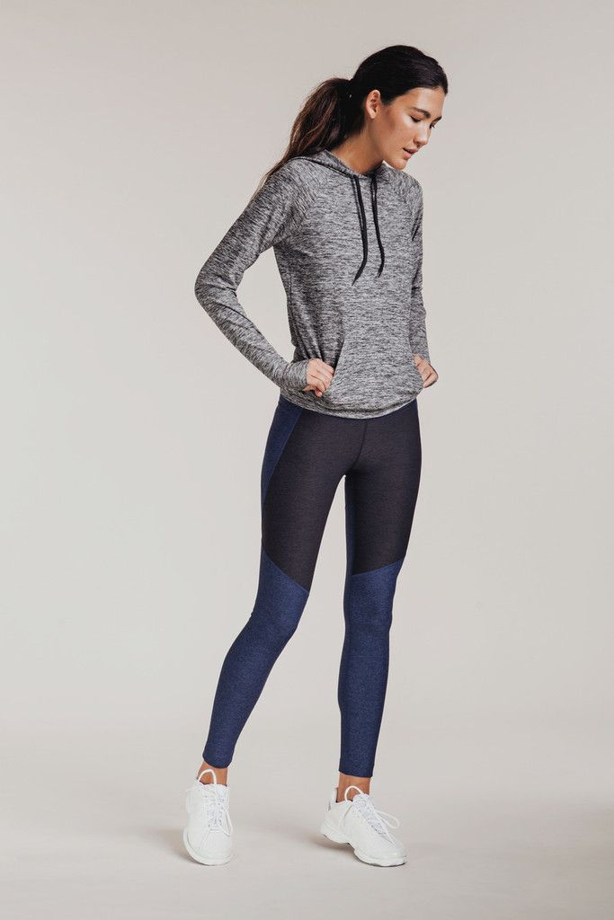 Your favorite leggings now in navy & charcoal.