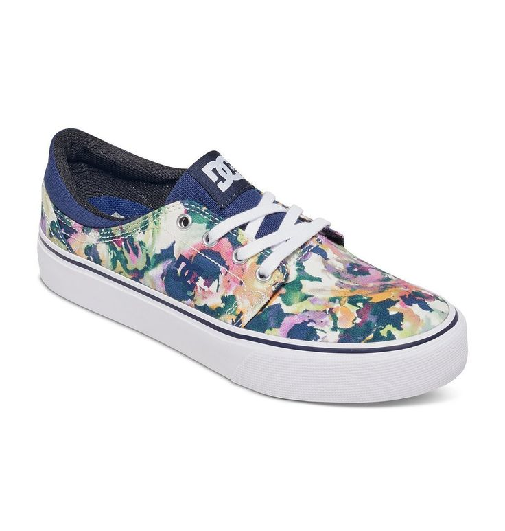 DC Women's Trase TX SE Skate Shoe,  In Stock. Estimated Delivery Date: June 16 - 21 when you choose Standard at checkout. Ships from and sold by DC Shoes. Textile Imported Fabric sole Durable canvas upper, clean vamp, foam padded collar and 6.5 millimeter ethylene vinyl acetate insole the trase provides comfort and durability Hd print logo Waxed square laces.   Price:$50.00 & FREE Shipping
