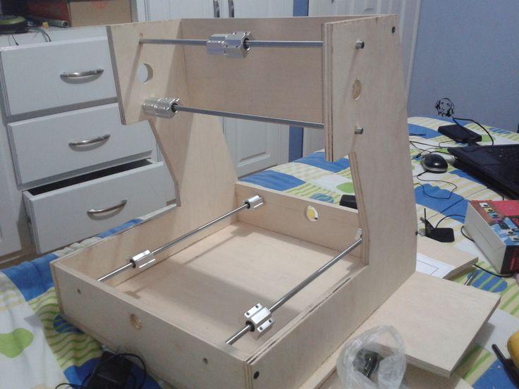 Construí una maquina fresadora CNC y te enseño como hacerlo