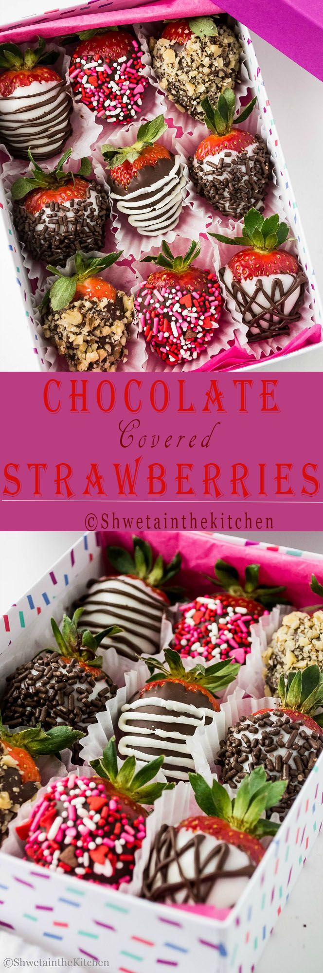 Chocolate Covered Strawberries - Forget those store bought expensive Chocolate Covered Strawberries and try these homemade ones.