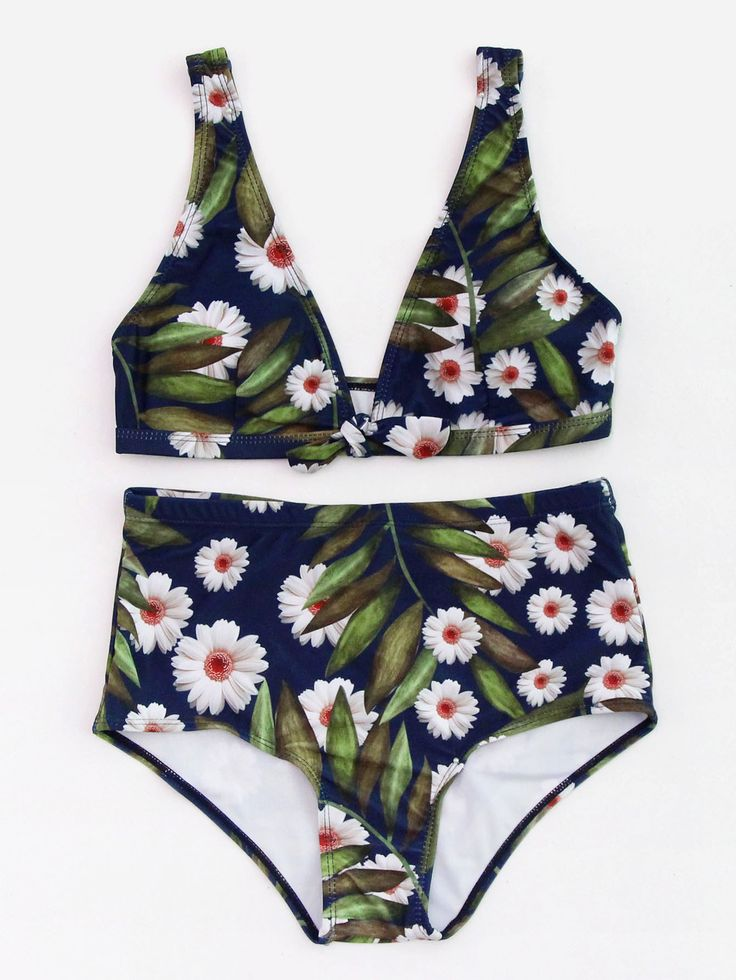 Shop Calico Print High Waist Plunge Bikini Set online. SheIn offers Calico Print High Waist Plunge Bikini Set & more to fit your fashionable needs.