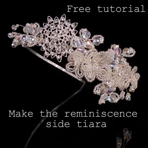 11 Best Images About How To Make Tiaras And Hair Accessories On Pinterest