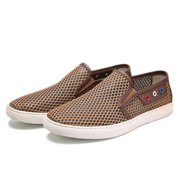 Cupcake With Frosting Mens Fashion Loafer Walking Quick Drying Slip-On Sneaker Shoes