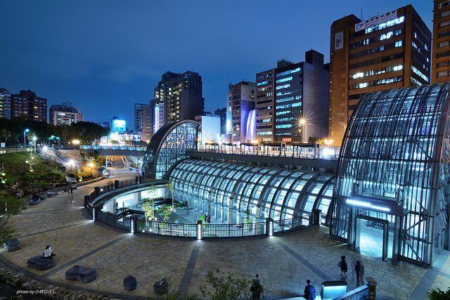Taipei Metro, Da'an Park Station #Taiwan 大安森林公園站