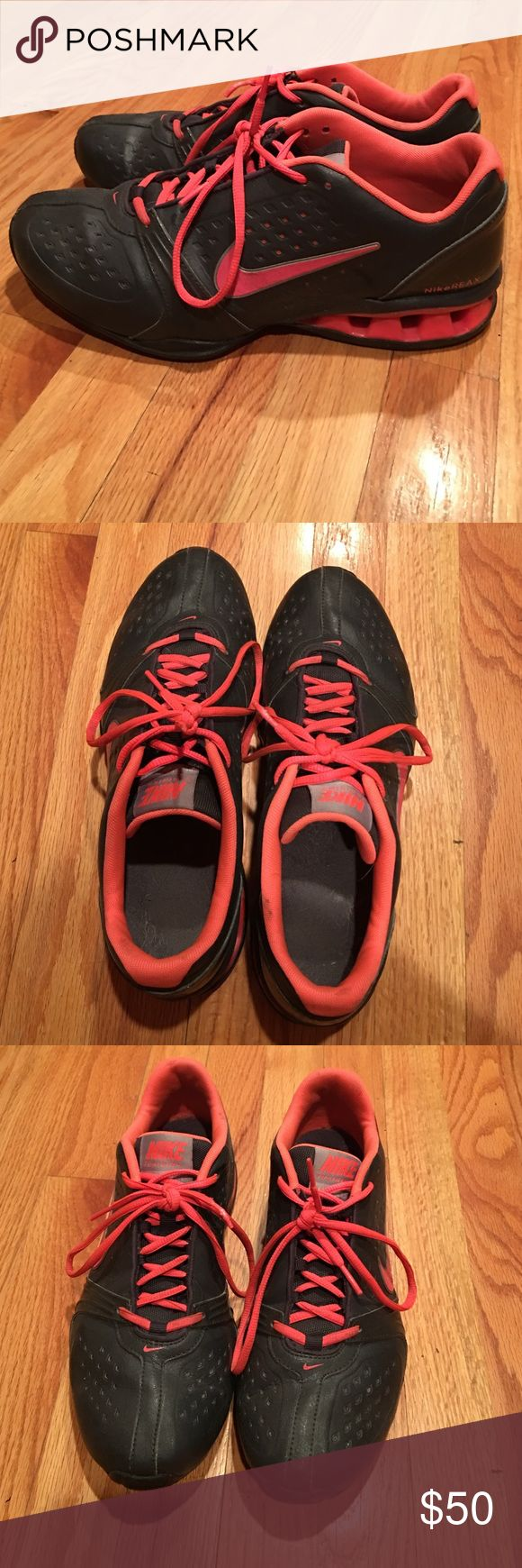 Nike Training Reax Rockstar Women's size 11 Nike Training Reax Rockstar sneakers. Worn a handful of times but no damage. A small amount of dirt but should wash right out. These have great support, only selling because I got a new pair for Christmas. Nike Shoes Sneakers