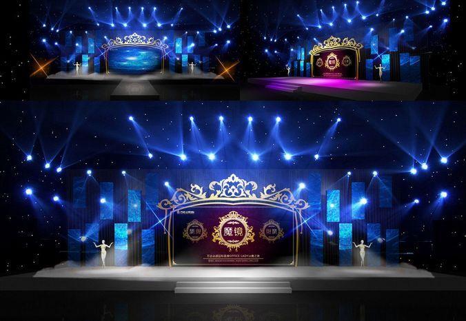 Download Concert Stage Design 17 Free 3d Model Or Browse