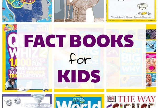 Nonfiction books for kids who love fun facts, trivia and why questions. Even reluctant readers will enjoy reading these fact books for children.