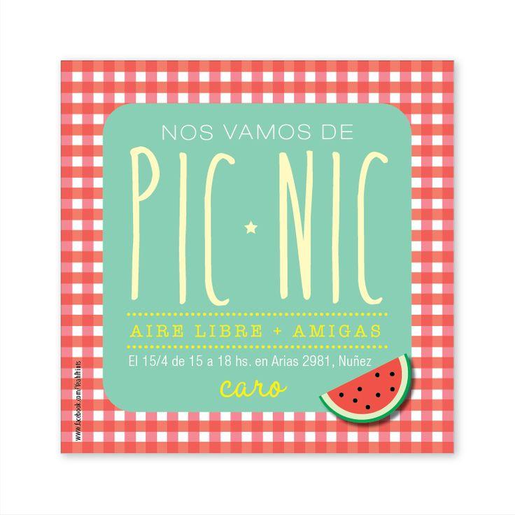Resultado de imagen para invitaciones a un picnic