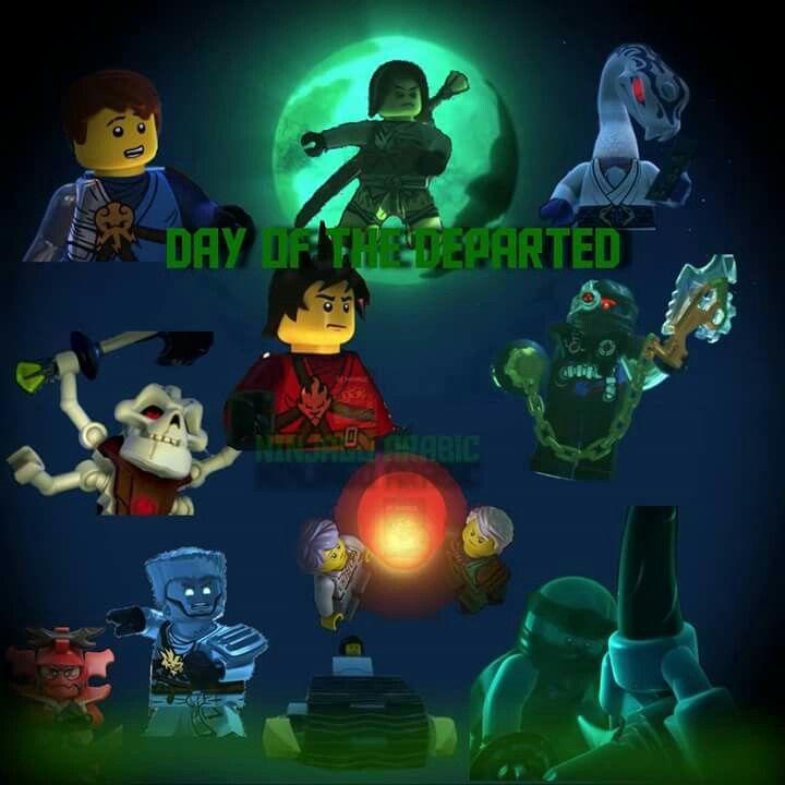 Season 7 | Lego ninjago | Day of the departed, Lego и Lego ...