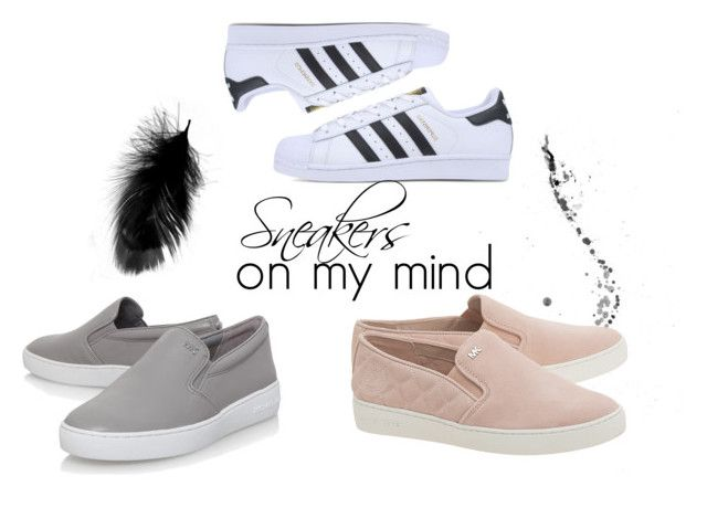Sneakers by iffmann on Polyvore featuring MICHAEL Michael Kors and adidas Originals