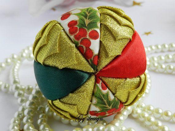 Ornamenti di natale ornamento ornamento dell'oro rosso di Gydesi