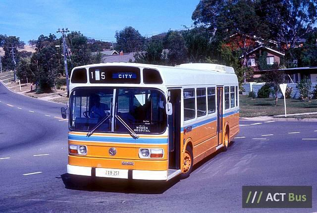 Canberra Leyland National