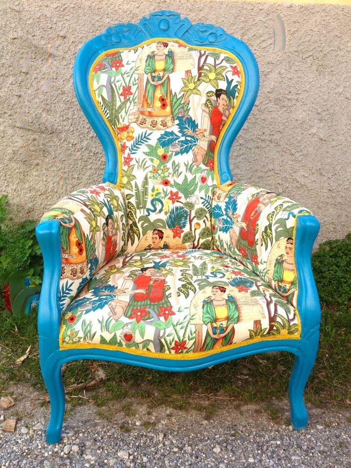 Fatta da noi! #Fridakahlo #restyle #restyling #design #arredamento #chair