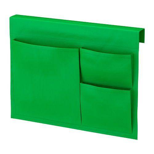 STICKAT Almacenaje bolsillos cama IKEA Práctica solución de almacenaje que puedes colgar en la cama de tu hijo.