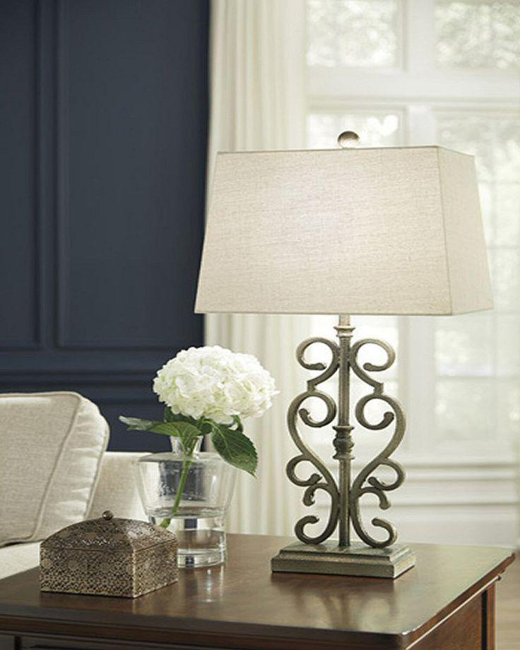 0-007145>Amiel Metal Table Lamp (Set of 2) Antique Gold