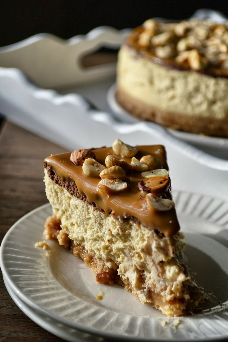 Decadent Chocolate, Caramel and Hazelnut Cheesecake