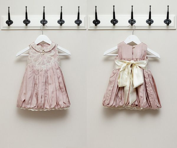 Pink and Grey: Brooklyn Dress