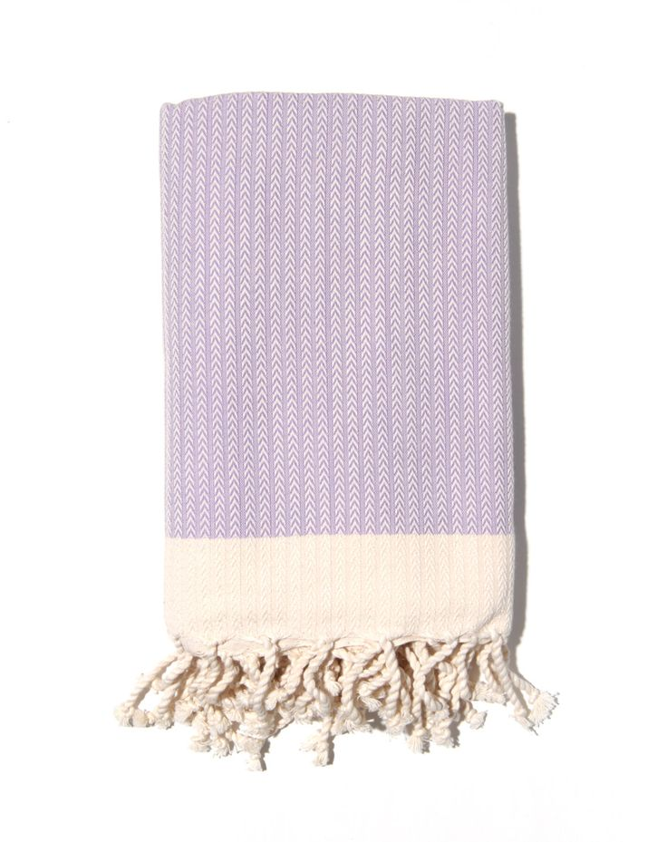 ZigZag Fouta Purple by Dubaruba - The classic ZigZag fouta towel has a rich heritage in the traditional Hammam culture, inspired by the unique hand-woven cloths that were originally made for use in North African and Turkish Bath Houses, ancestor of the modern day spa. This fouta features a timeless striped design that will accent your home with a touch of casual sophistication. Choose from vibrant hues that will bring personality and life to the space in which you dwell.