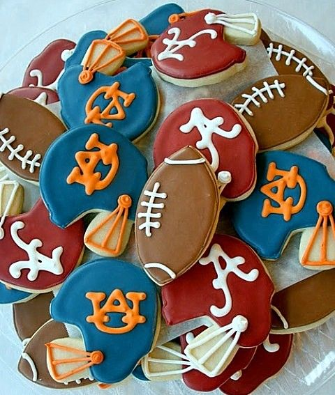 Football Helmet and Football Cookie Cutter for Gameday