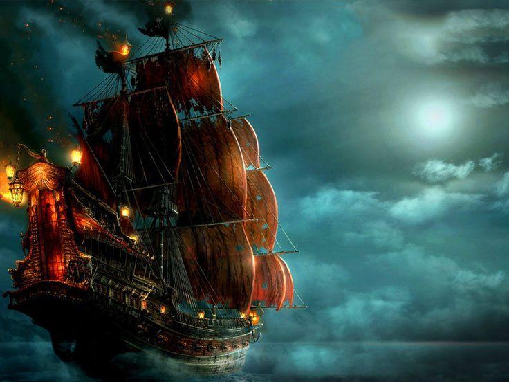 bateau pirate wallpaper - photo #3