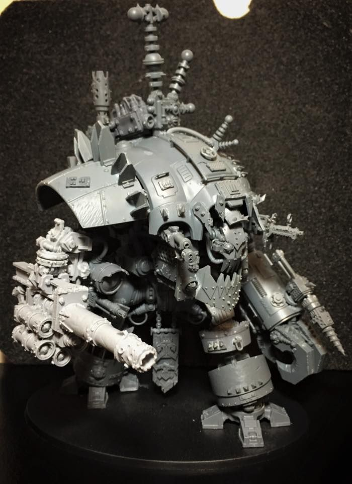 Looted Knight - Conversion Corner - Spikey Bits