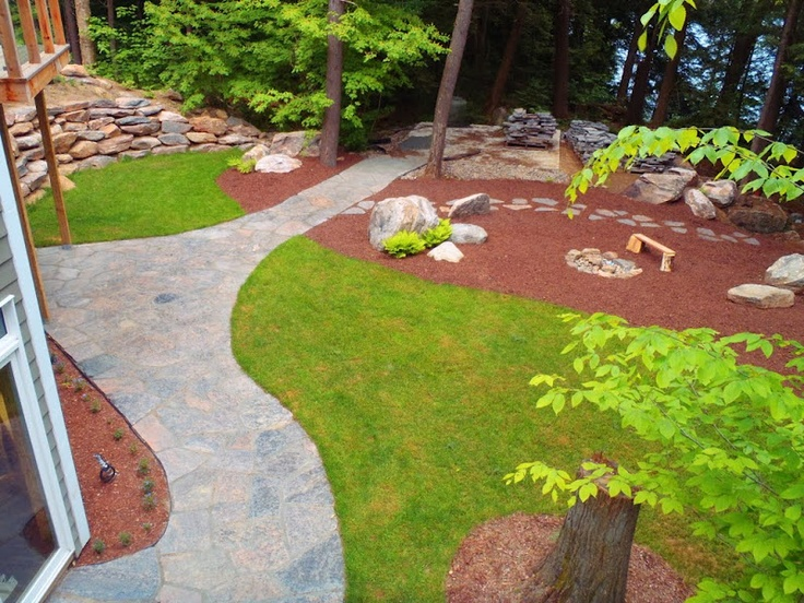 1000+ images about waterfront landscaping..my backyard on ... on Waterfront Backyard Ideas id=62987