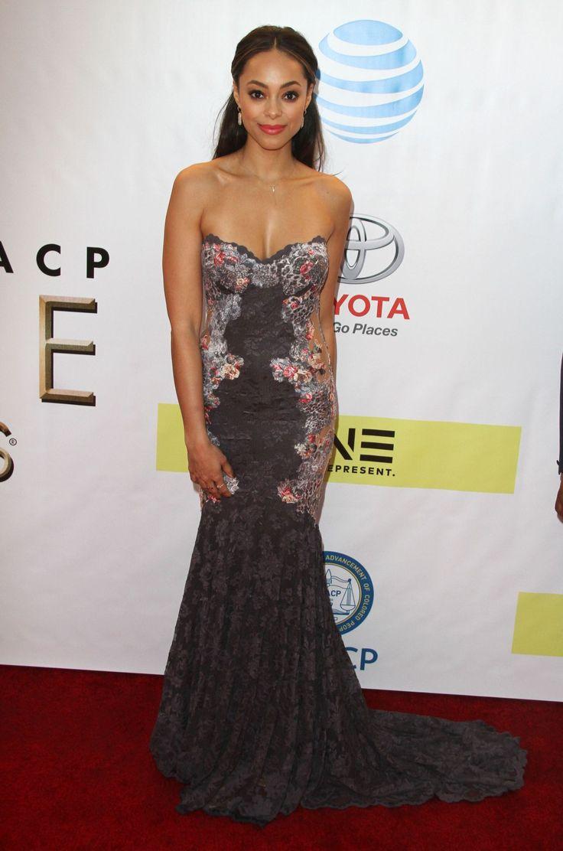 Amber Stevens West  #AmberStevensWest 48th NAACP Image Awards in Los Angeles 11/02/2017 Celebstills A Amber Stevens West