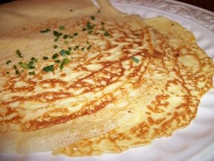 corn meal crepes recipe