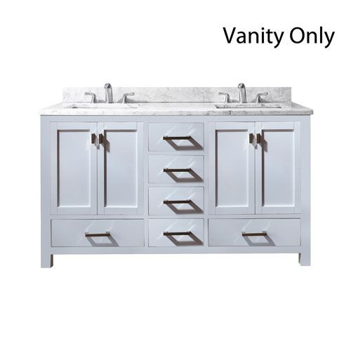 Website With Photo Gallery Avanity Modero White Inch Double Vanity Only