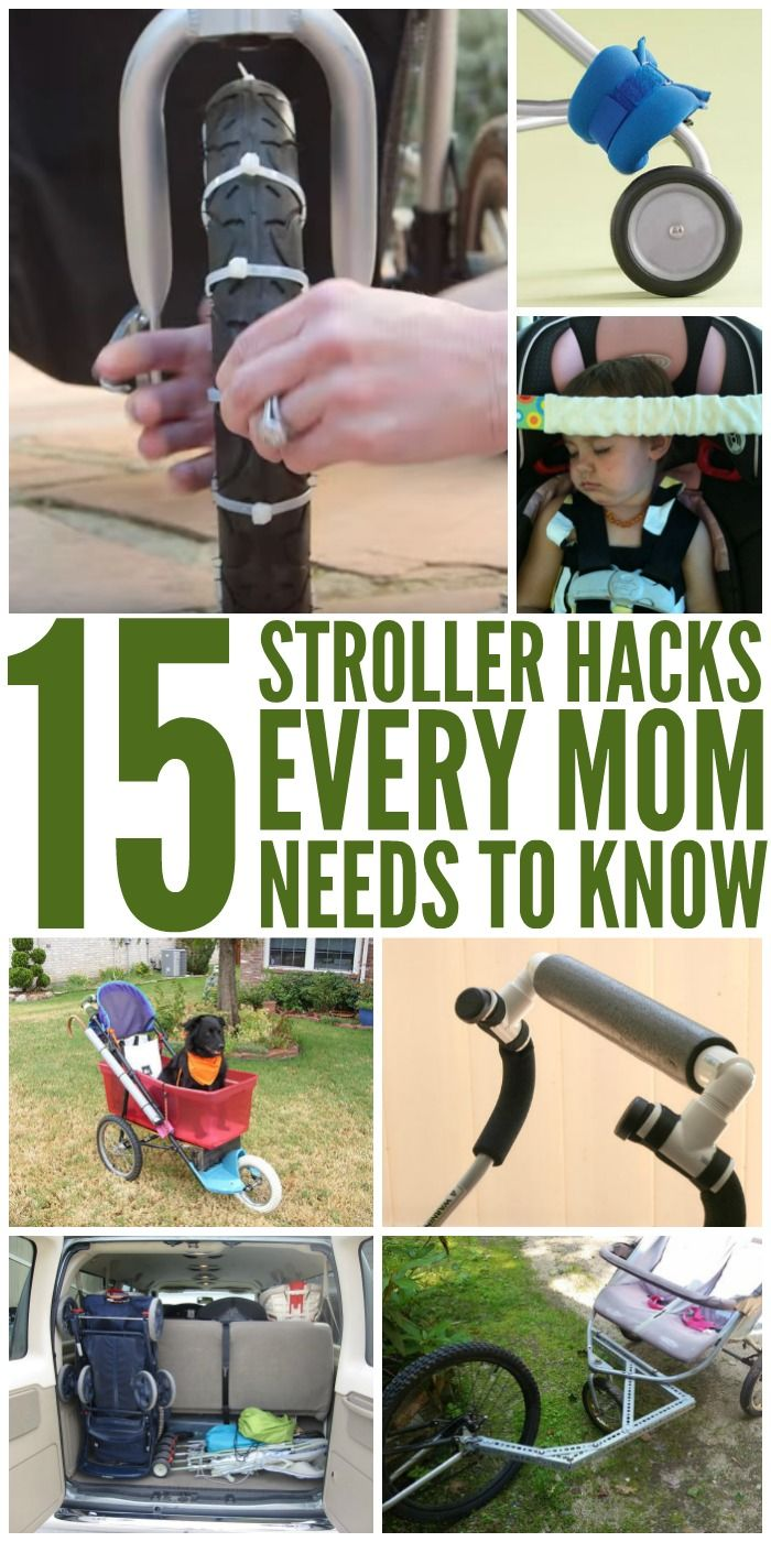 15 Stroller Hacks Every Mom Needs to Know - One Crazy House