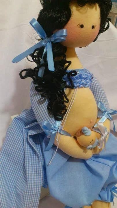 Boneca de Pano By Elizabeth Antunes: Boneca de Pano Grávida
