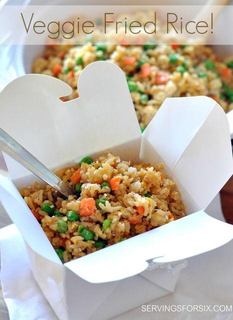 Veggie Fried Rice! YUM!!!