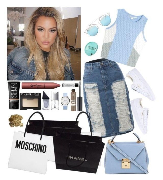 """Shopping Day"" by cavffeine ❤ liked on Polyvore featuring Puma, GUiSHEM, Christian Dior, tarte, Mark Cross, LE3NO, Jonathan Simkhai, NARS Cosmetics, Moschino and Chanel"