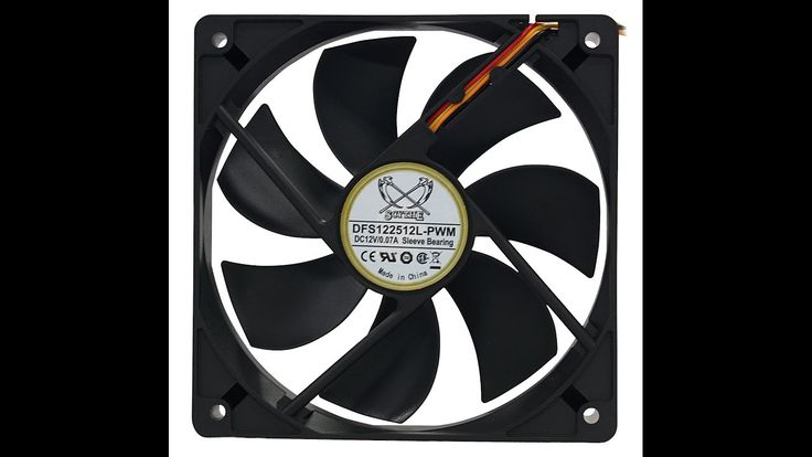 How to reduce a pc fans speed noise super simple