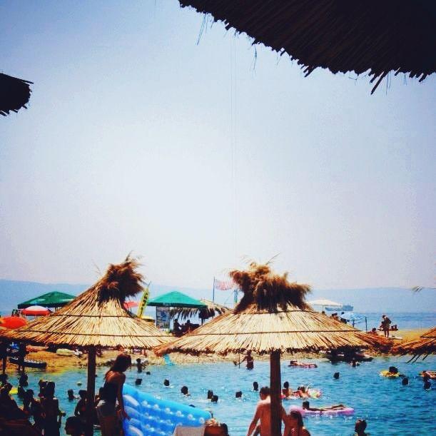 Endless summer at Buba Beach, Makarska, Croatia