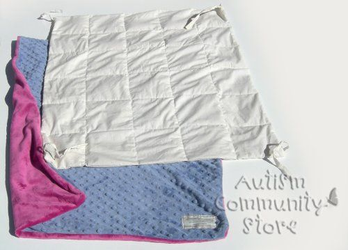 Tutorial for how to sew a weighted sensory blanket.