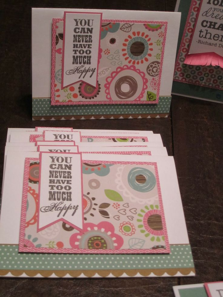 CTMH Lollydoodle cards