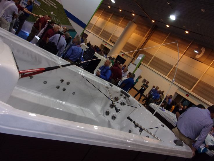 48 best images about tidalfit exercise pool on pinterest for Pool and spa expo