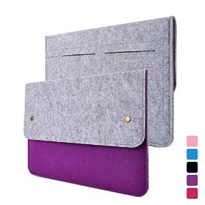 [Apple Macbook Bag] YESSBON Macbook Air and Pro 13 Case - Wool Felt Sleeve with Splash-proof Notebook Laptop Case Carry Bag Cover with Lifetime Guarantee for Apple Macbook Air 13 and Macbook Pro 13 with Retina - Grey