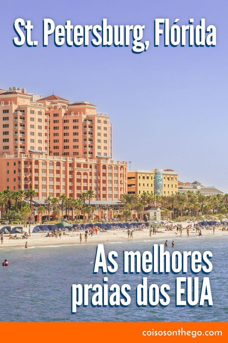 Em St. Pete, Flórida você encontra as praias de Clearwater Beach e St. Pete Beach, duas das melhores praias da Flórida e dos Estados Unidos. Tudo isso a menos de duas horas de Orlando.