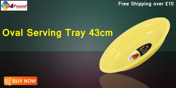 Order Oval Serving Tray 43cm Get 50% Discount Here !!!