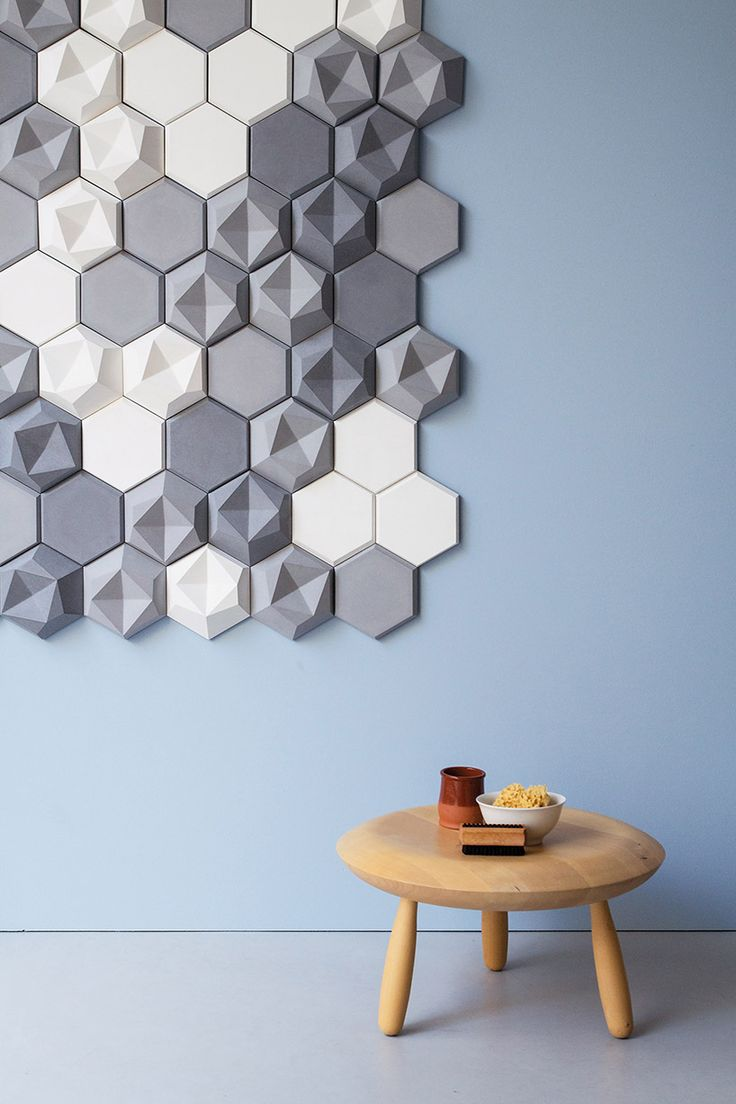 Details we like / Patern / Pastel / Geometric / Tiles / at patrycja domanska tanja lightfoot edgy tiles kaza concrete designboom