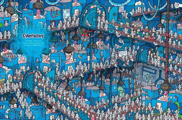 EL BLOG CRÍTICO DEL CHACAL: ¿Donde está WALLY? ¡NO! ¿Donde está el DOCTOR WHO? Además posters de personajes de LOS JUEGOS DEL HAMBRE, primer...