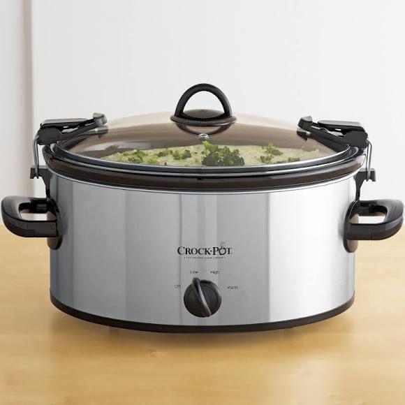 """Crock-Pot Cook & Carry"""" 6-qt. Slow Cooker"""